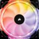 Corsair Air HD140 RGB LED High, 140mm, PWM