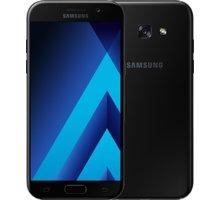Samsung Galaxy A5 2017, černá - SM-A520FZKAETL + Zdarma inCharge USB-C, červený (v ceně 349,-)
