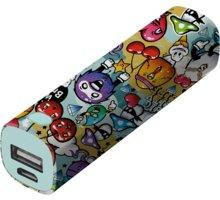 Trust Tag PowerStick 2600mAh zdroj, graffiti objects - 20866
