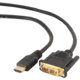 Gembird HDMI - DVI 1,8m M/M