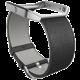 Fitbit Blaze Accessory Band, L, leather, černá