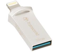Transcend JetDrive Go 500 - 32GB, stříbrná - TS32GJDG500S
