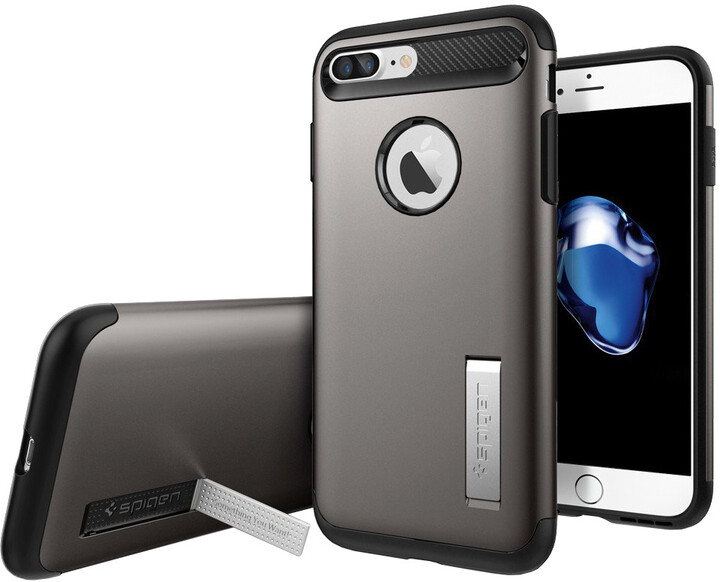 Spigen Slim Armor pro iPhone 7+, gunmetal