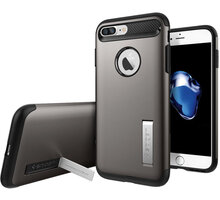 Spigen Slim Armor pro iPhone 7+, gunmetal - 043CS20309