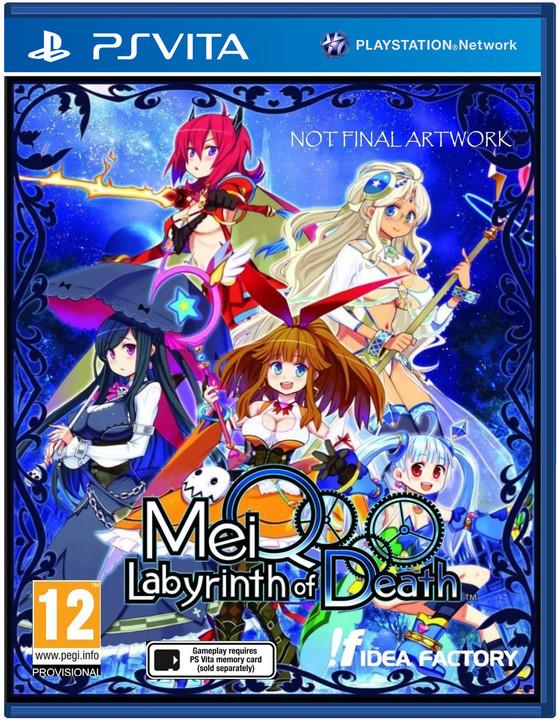 MeiQ: Labyrinth of Death (PS Vita)