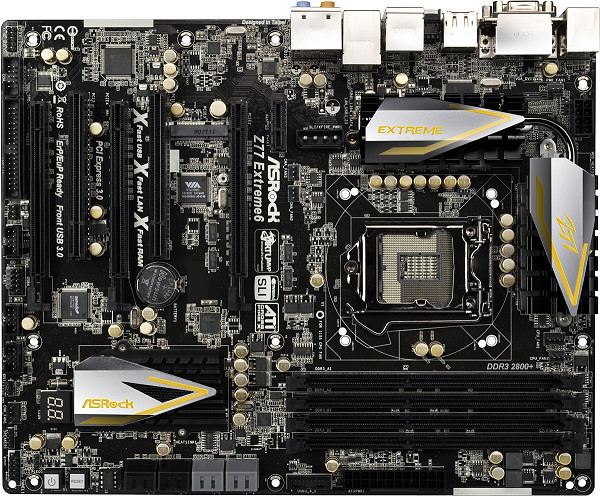 ASRock Z77 Extreme6 - Intel Z77