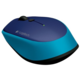 Logitech Wireless Mouse M335, modrá