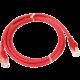 UTP kabel rovný kat.6 (PC-HUB) - 0,5m, červená