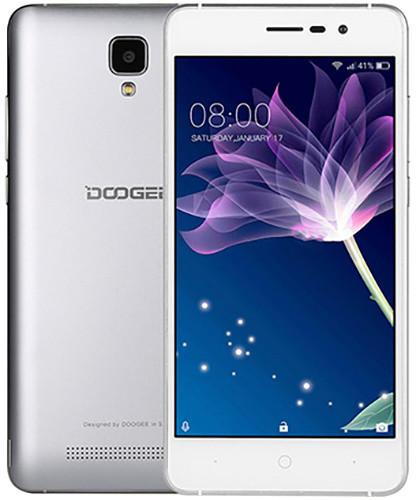 DOOGEE X10 - 8GB, stříbrná