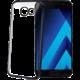 CELLY Laser - pouzdro lemování s kovovým efektem pro Samsung Galaxy A5 (2017), černé