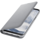 Samsung S8 Flipové pouzdro LED View, stříbrná