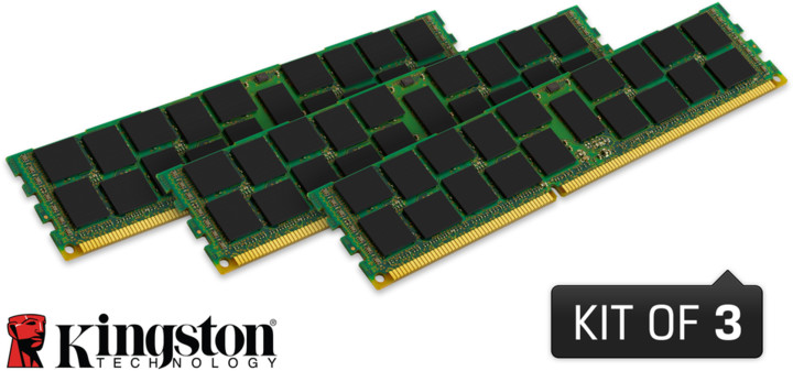 Kingston System Specific 48GB (3x16GB) DDR3 1333 ECC brand Dell