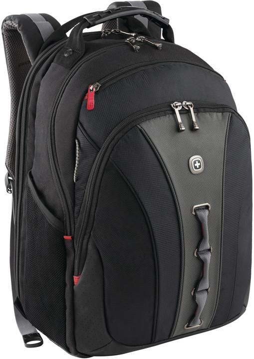 "WENGER LEGACY - 16"" batoh na notebook, černý/šedá"