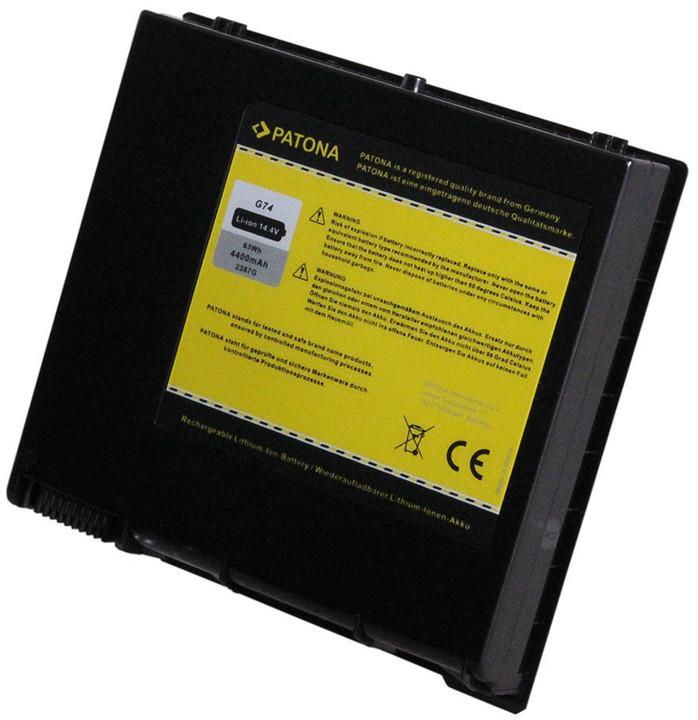 Patona baterie pro ntb ASUS A42-G74 4400mAh Li-Ion 14,4V G74