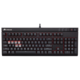 CORSAIR Gamiing STRAFE RED LED + Cherry MX BLUE, CZ