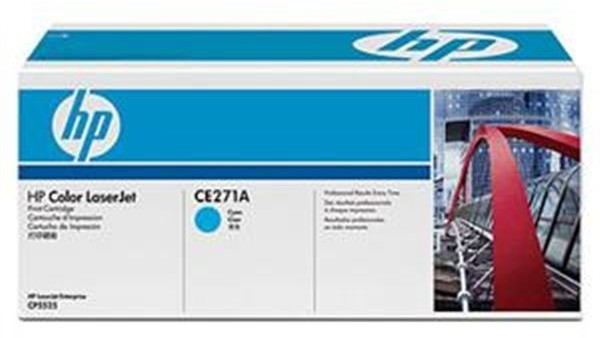 HP CE271A, cyan
