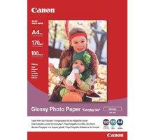 Canon Foto papír GP-501, A4, 100 ks, 210g/m2, lesklý - 0775B001