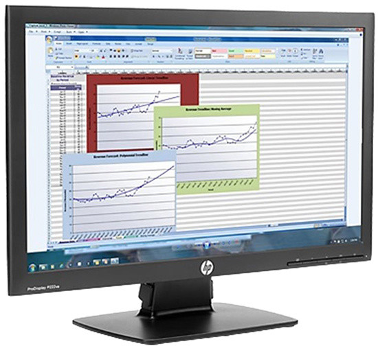 HP P222va - LED monitor 22""