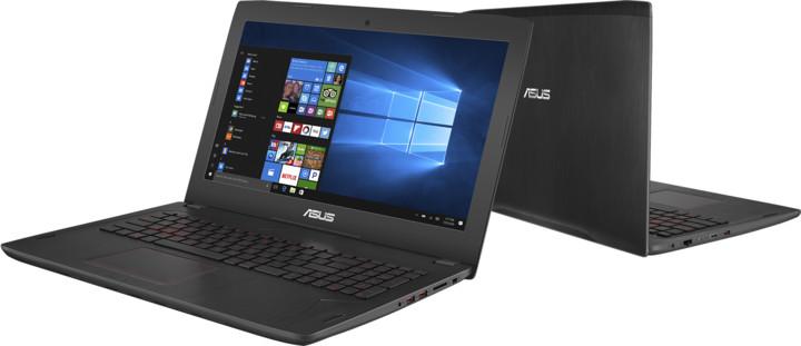ASUS FX502VE-FY047T, černá