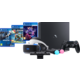 VR ULTIMATE SET - PS4 Pro, 1TB  + Virtuální brýle PlayStation VR + PlayStation 4 - Move Controller, twin pack, černý + PlayStation 4 - Kamera v2 + PlayStation VR Worlds (PS4 VR) + RIGS: Mechanized Combat League (PS4 VR) + Driveclub VR (PS4 VR)