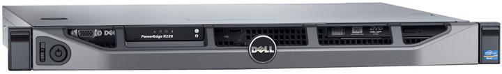 Dell PowerEdge R220, E3-1220/8GB/2x1TB/WSF2012