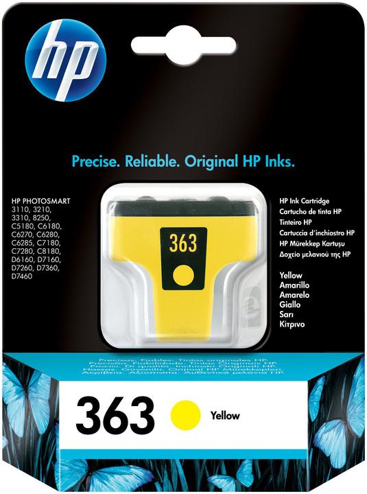 HP C8773EE, no.363, žlutá