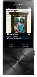 Sony NWZ-A15, 16GB, černá