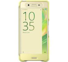 Sony SCR56 Style Cover Touch Xperia XP, limetková/zlatá - 1301-7696