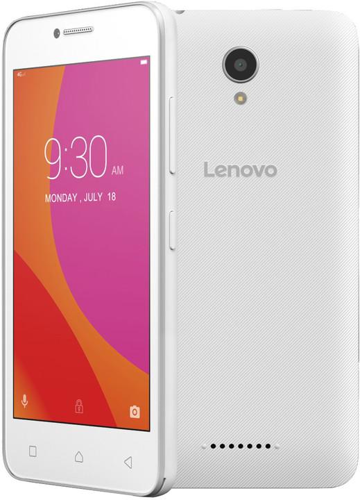 Lenovo B - 8GB, LTE, bílá