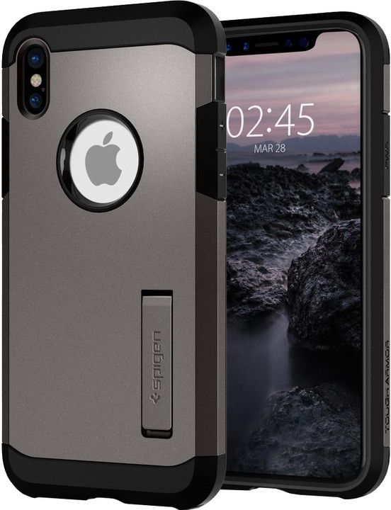 Spigen Tough Armor iPhone X, gunmetal