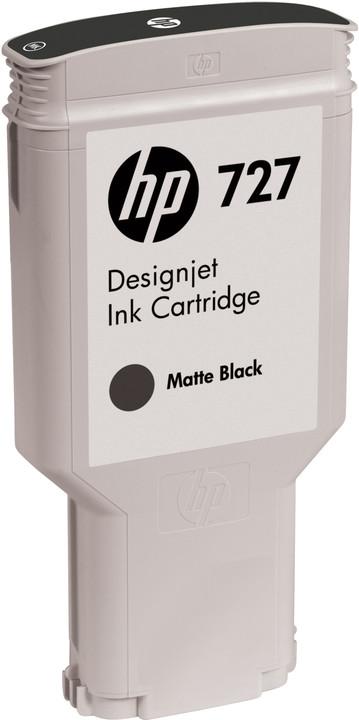 HP C1Q12A náplň č.727, černá matná