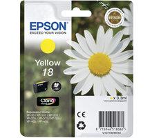 Epson C13T18044010, žlutá