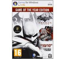 Batman: Arkham City - GOTY (PC) - PC - 8595071033184