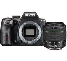 Pentax K-70, černá + DAL 18-50mm WR - 16294 + Objektiv Pentax DA 50mm F1.8 v ceně 4690 Kč