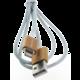 MyMAX magnetický kabel lightning – zlatý