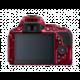 Nikon D5500, tělo červená