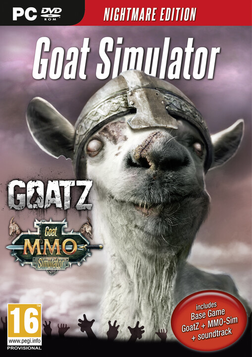 Goat Simulator - Nightmare Edition - PC