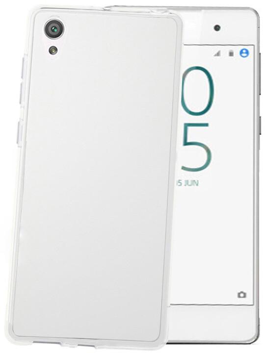 CELLY Gelskin TPU pouzdro pro Sony Xperia E5, bezbarvé