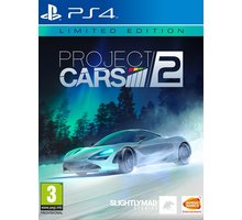 Project CARS 2 - Limited Edition (PS4) + Čepice Project CARS 2