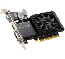 EVGA GT 710 LP, active, 2GB - 02G-P3-2713-KR