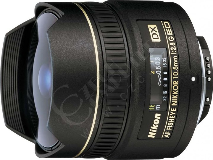 Nikkor 10.5mm f/2.8G ED DX Fisheye