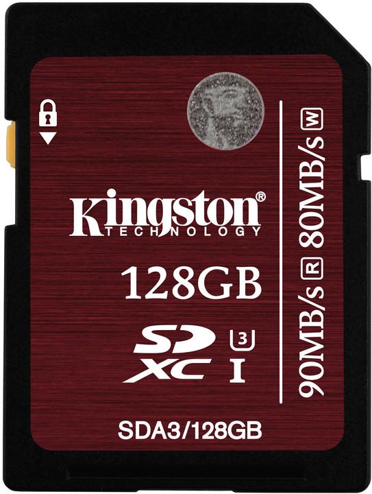 Kingston SDXC 128GB Class 10 UHS-I U3