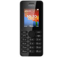 Nokia 108 Dual SIM, bílá - A00015063