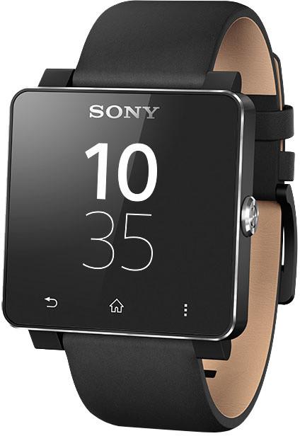 Sony SmartWatch 2, leather black