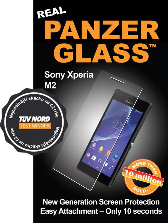 PanzerGlass ochranné sklo na displej pro Sony Xperia M2