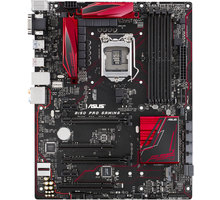 ASUS B150 PRO GAMING - Intel B150 - 90MB0PB0-M0EAY0