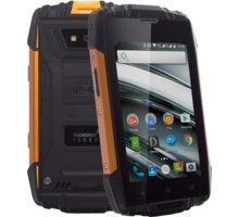 myPhone HAMMER IRON 2, černá/oranžová - TELMYAHIRON2OR + Zdarma golfová čepice Nike v ceně 490,-, modrá