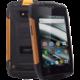 myPhone HAMMER IRON 2, černá/oranžová  + Zdarma ručník PUMA (v ceně 799,-)