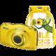 Nikon Coolpix S33, žlutá + Backpack kit