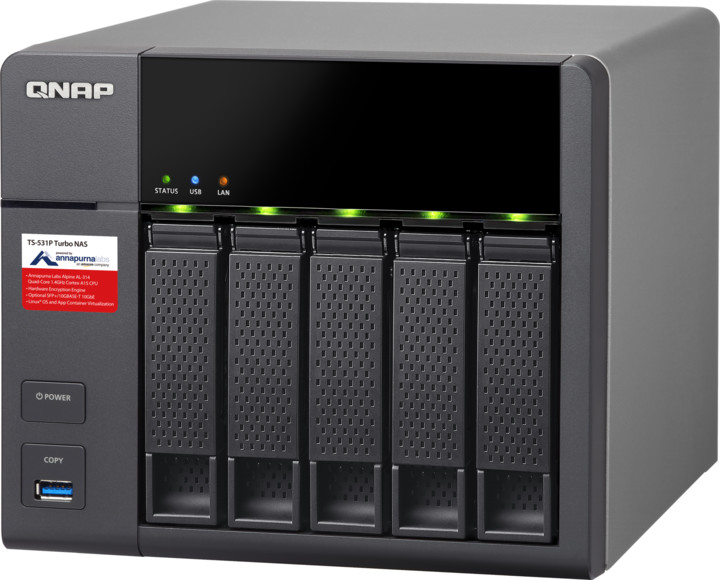 QNAP TS-531P-8G